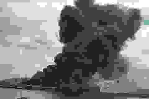 Hỏa hoạn dữ dội tại nhà máy thép gần sân bay Tokyo