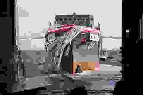 Nhật Bản hạ thủy tàu rà quét mìn hiện đại