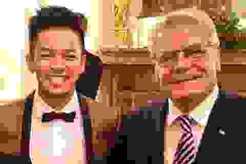 Tổng thống Đức dành nhiều lời khen ngợi Quán quân Vietnam Idol 2015