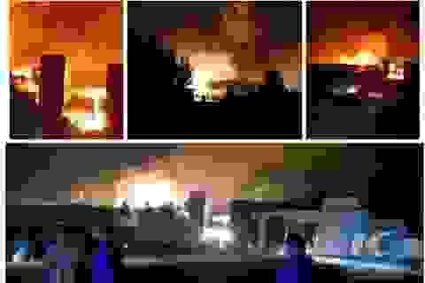 Vụ nổ hóa chất mới ở Trung Quốc: 1 người chết, 9 người bị thương