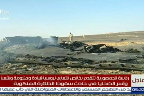 Những hình ảnh đầu tiên về hiện trường vụ rơi máy bay Nga