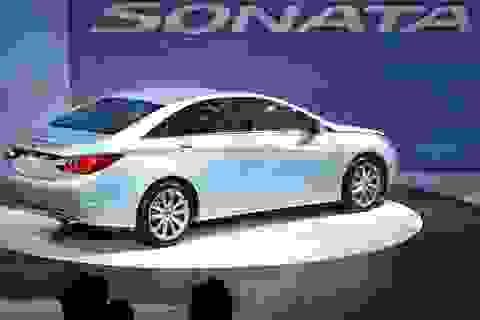 Hyundai triệu hồi xe Sonata do lỗi động cơ