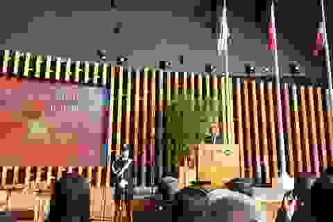 """Bộ trưởng Hoàng Tuấn Anh tham dự  """"Ngày Quốc gia Việt Nam 2015"""" tại Italia"""