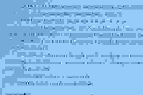 Hà Nội: Bất chấp pháp luật, trưởng thôn ký phiếu thu giao 16 lô đất trái thẩm quyền