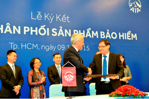 AIA Việt Nam và ACB triển khai mô hình phân phối sản phẩm bảo hiểm nhân thọ