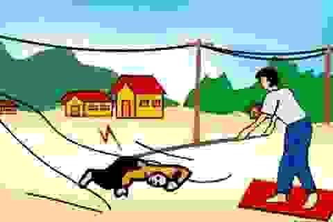 Cách nhanh nhất để cứu người bị điện giật