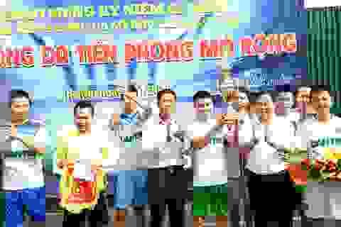 FC Dân trí lên ngôi vô địch giải bóng đá Tiền phong mở rộng