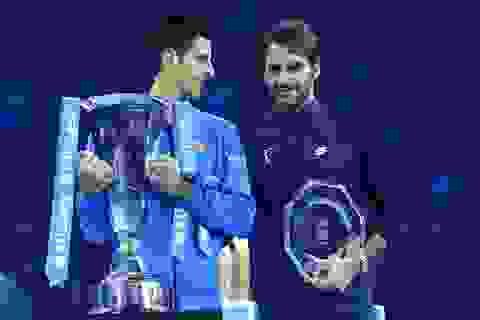 Hạ Federer, Djokovic lần thứ 5 vô địch ATP World Tour Finals