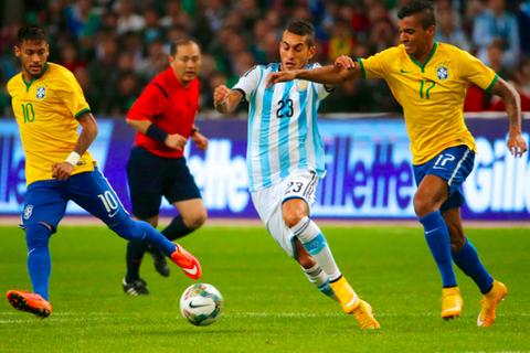 Argentina - Brazil: Cuộc chiến kinh điển