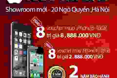 iPhone 6 giá sốc nhân dịp Apple8 khai trương cơ sở mới