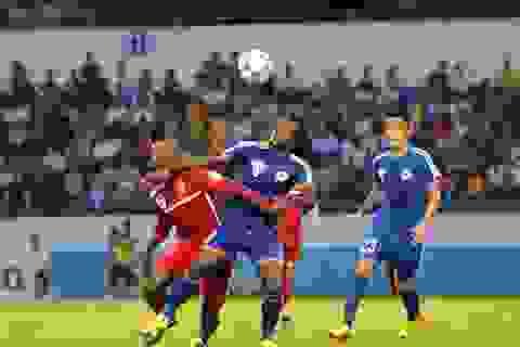 HLV Miura phải chứng kiến trận đấu bạo lực nhất mùa giải V-League