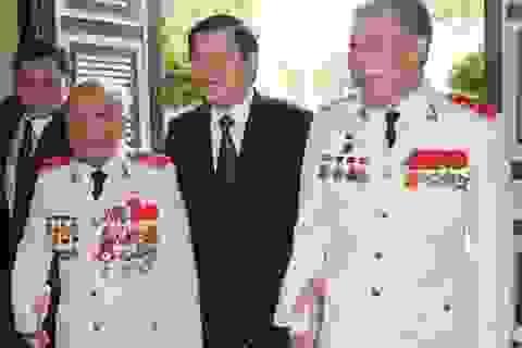 Chủ tịch nước gặp mặt thân mật các thế hệ tướng lĩnh Công an nhân dân
