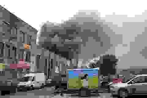 Cháy chợ Đồng Xuân Berlin, Đức