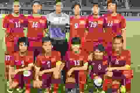 Đội tuyển nữ Việt Nam thắng sát nút Jordan ở vòng loại Olympic