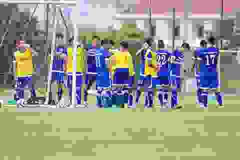Đội tuyển Việt Nam rèn miếng đánh chờ đấu Man City