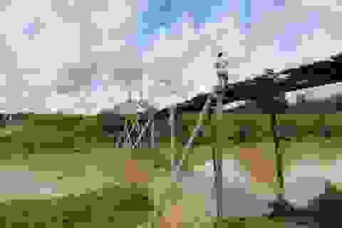 Thầy trò bản Mông mong mỏi một cây cầu