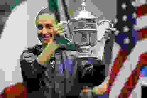 Tay vợt 33 tuổi Pennetta vô địch đơn nữ Mỹ mở rộng
