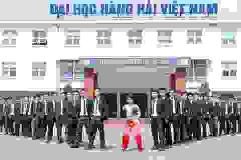 Trường ĐH Hàng hải Việt Nam công bố điểm trúng tuyển tạm thời