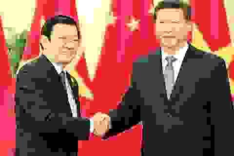 Chủ tịch nước yêu cầu Trung Quốc không quân sự hóa Biển Đông