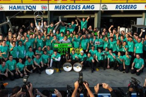 F1 2015: Mercedes-AMG lần thứ hai liên tiếp lên ngôi