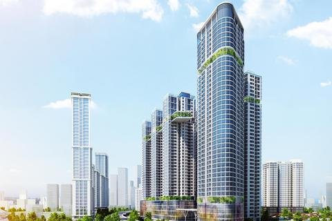 Mua căn hộ Golden Central Tower, ưu đãi lên tới 2%