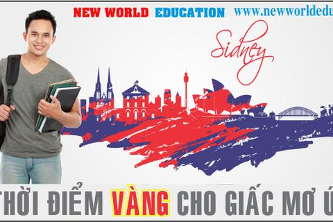 Visa du học Úc không khó cho sinh viên Việt Nam