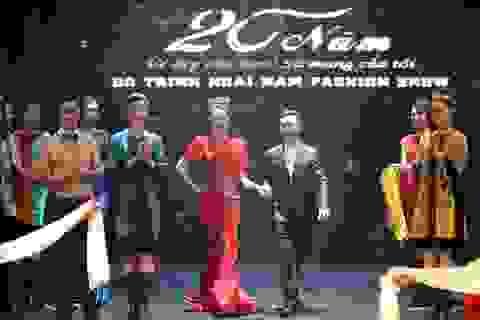NTK Đỗ Trịnh Hoài Nam hóa hoàng tử bên á hậu Thụy Vân