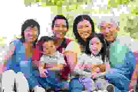 Giáng sinh - Ước cả gia đình khỏe mạnh