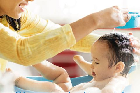 Chăm sóc da đúng cách đánh thức tiềm năng phát triển cho bé