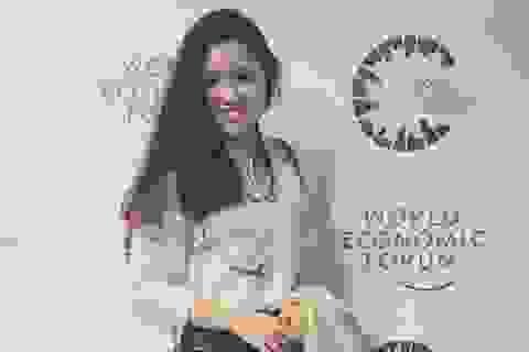 Nữ thủ lĩnh 9X tài sắc từng dự Diễn đàn kinh tế thế giới