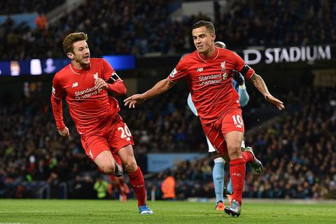 Man City thảm bại ngay trên sân nhà trước Liverpool
