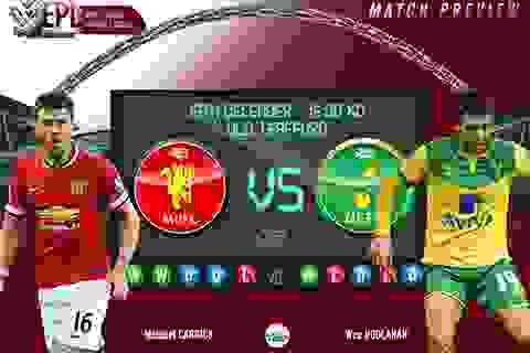Man Utd - Norwich: Không còn đường lùi