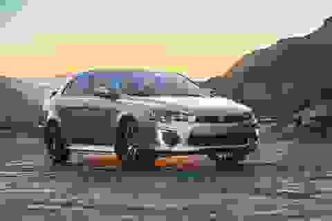 Mitsubishi Lancer được nâng cấp