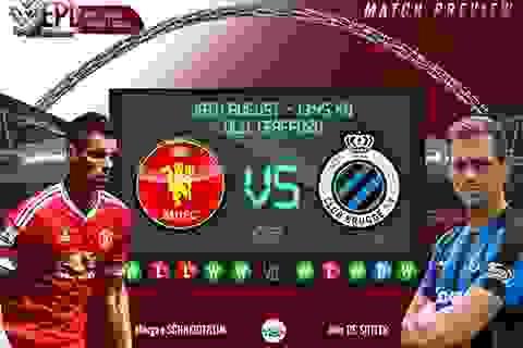 Man Utd - Club Brugge: Thử thách cuối cùng