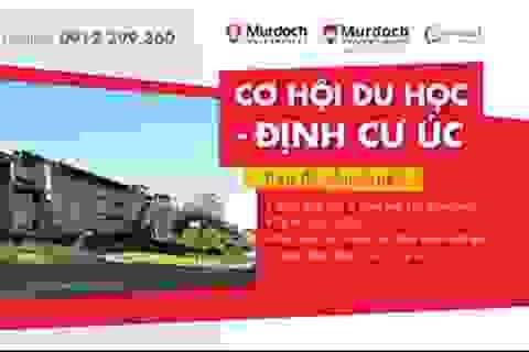 """Giao lưu """"Học bổng du học Úc cùng Murdoch University"""""""