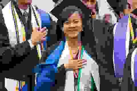 Nữ sinh gốc Việt 17 tuổi giành suất vào Harvard
