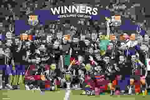 Thắng nghẹt thở Sevilla, Barcelona giành Siêu Cúp châu Âu 2015