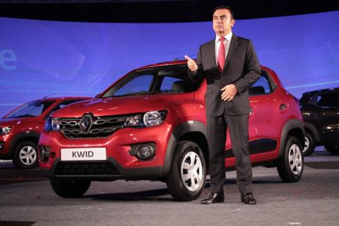 Renault Kwid giá chỉ từ 3.900 USD