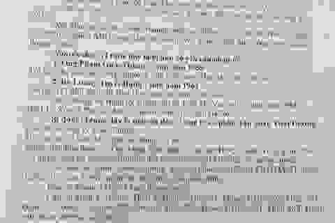 """""""Điểm mặt"""" hàng loạt sai phạm trong bản án, VKSND TP Hà Nội """"tuýt còi"""" Toà quận Hai Bà Trưng"""