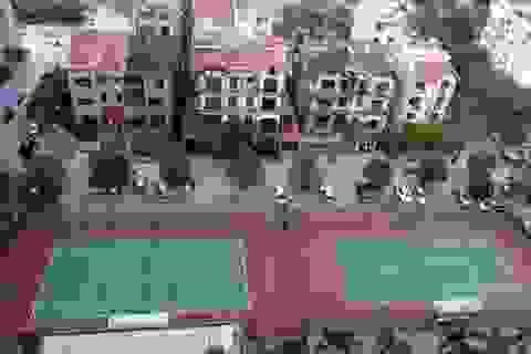 """Hà Nội: Vì sao vụ """"xẻ thịt"""" đất cây xanh làm sân tennis chậm xử lý?"""