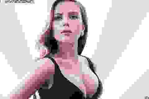 Scarlett Johansson diện trang phục khoe khéo vòng hai săn chắc