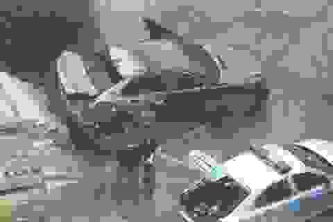 Xe BMW của người Việt bị đốt ở Praha