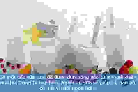 Những công dụng bất ngờ của sữa
