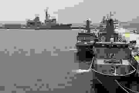 Hải quân 16 nước tập trận rà phá ngư lôi ngoài khơi Singapore