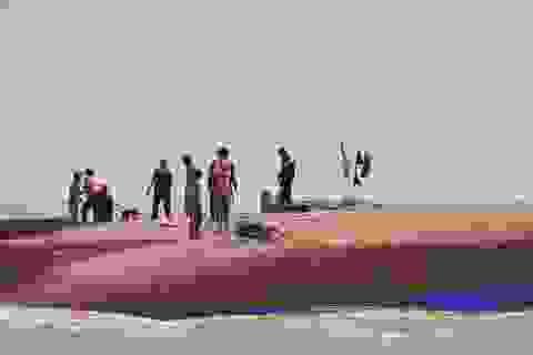 Thuyền viên được cứu sống kể lại giây phút thoát khỏi tàu chìm