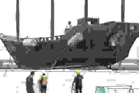 Bí ẩn tàu ma: Nhật Bản nghiêng về giả thuyết ngư dân gặp nạn