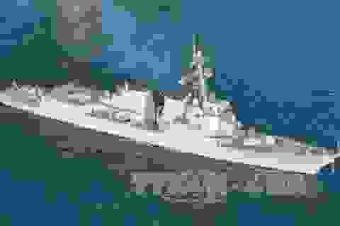 """Tàu khu trục Mỹ khuấy động """"chiến trường"""" ngoại giao châu Á"""