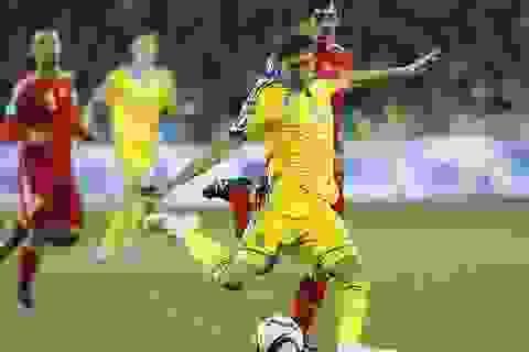 Thua Tây Ban Nha, Ukraine mất suất chính thức dự Euro 2016