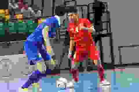 Đội tuyển futsal nam Việt Nam thua đậm Thái Lan 0-6 ở bán kết