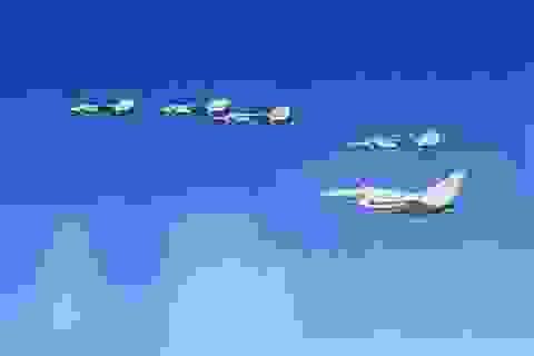 Chiến đấu cơ Anh xuất kích chặn 10 máy bay quân sự Nga